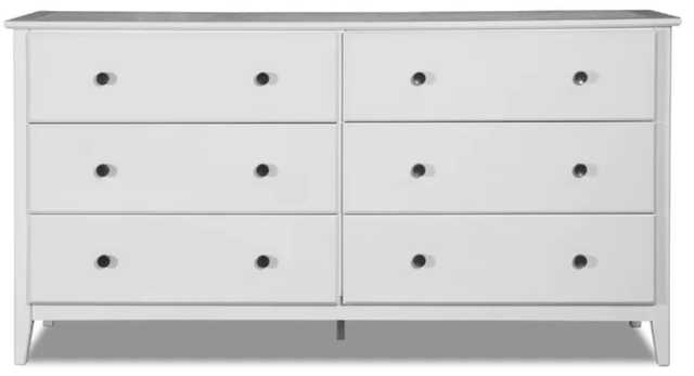 Greenport 6 Drawer Double Dresser - Wayfair