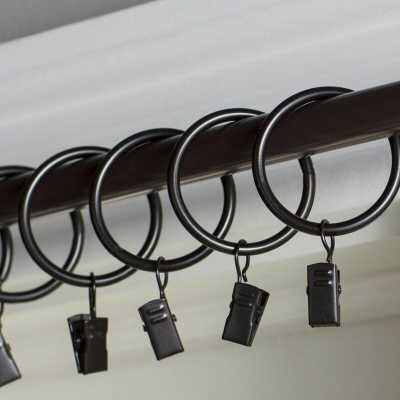 Wayfair Basics Curtain Ring (Set of 7) - Wayfair