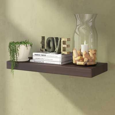 Floating Shelf: bookshelf - Wayfair