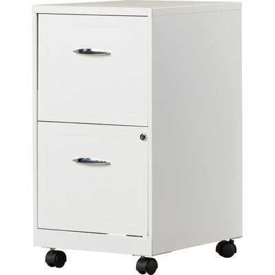 Gigi 2-Drawer Mobile Vertical Filing Cabinet - Wayfair