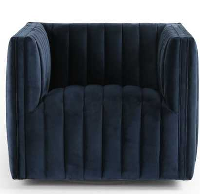 Augustine Swivel Chair in Various Colors by BD Studio - Burke Decor