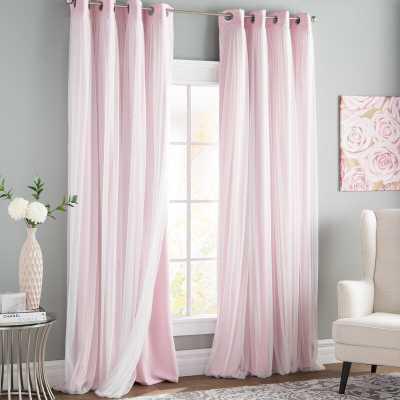 Brockham Room Darkening Thermal Grommet Curtain Panels (Set of 2) - Wayfair
