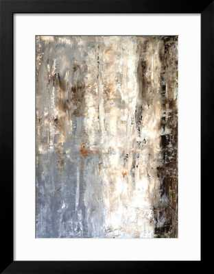 "BROWN AND GREY ABSTRACT ART PAINTING 24 x 32"" - art.com"
