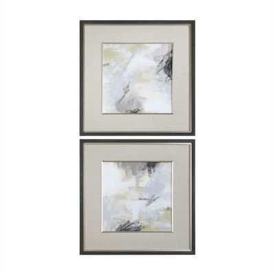 Abstract Vistas, Framed Print S/2 - Hudsonhill Foundry