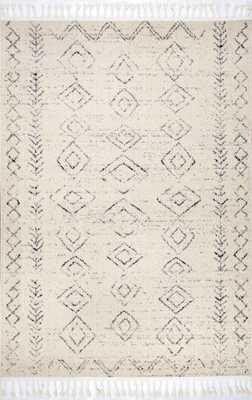 Meredith Moroccan Tassel Rug 5x8 - Loom 23