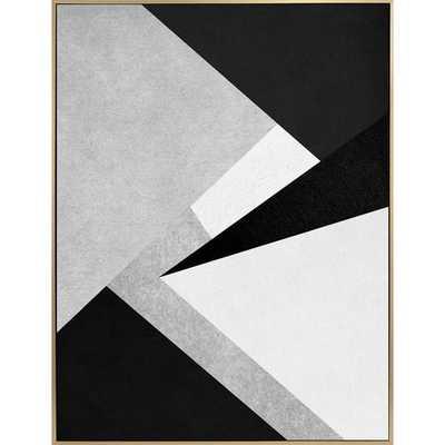 'Unfolding IV' Framed Graphic Art Print on Canvas - Perigold