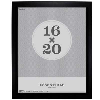 Rosetta Essentials Picture Frame, 16x20, black - Wayfair