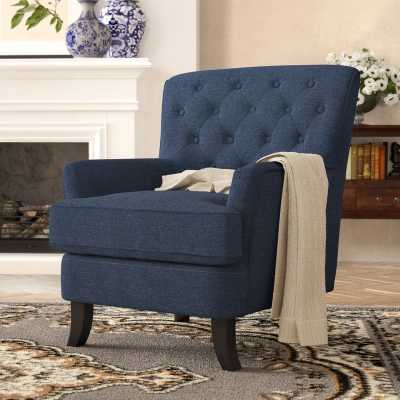 Megan Armchair, Navy Blue - Wayfair
