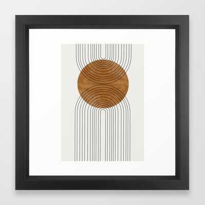 Abstract Flow Framed Art Print by TMSbyNIGHT - Society6