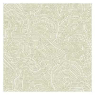 Geodes Removable Wallpaper, Cream - York Wallcoverings
