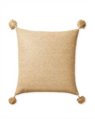 """Santa Cruz Outdoor 24""""SQ Pillow Cover - Insert sold separately - Serena and Lily"""