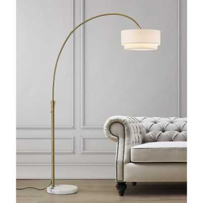 "Dina 81"" Arched Floor Lamp - Wayfair"