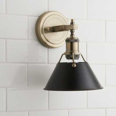 TRUNCATED CONE SHADE SCONCE - Shades of Light