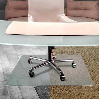 Unomat® Anti-Slip Rectangular Chair Mat Hard Floors and Carpet Tiles - 35 x 47 in. - Home Depot