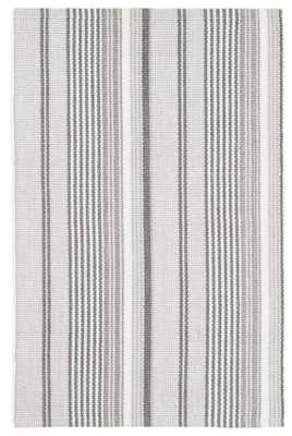 GRADATION TICKING INDOOR/OUTDOOR RUG - Dash and Albert