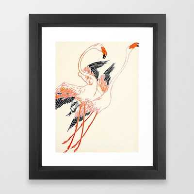 Cocorico cover 1900 Two Pink Flamingos - Society6