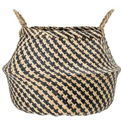Seagrass Wicker Basket - Wayfair