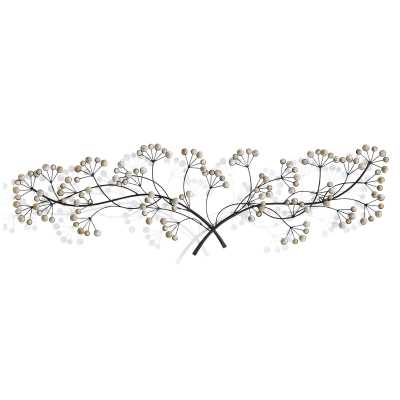 Tree Branch with Wood Beaded Detail Wall Décor - Wayfair