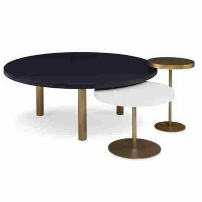 VIVA BRASS TABLES, SET/3 - Curated Kravet