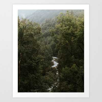 Forest Valley River - Landscape Photography Art Print - Society6