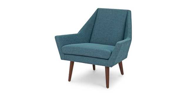 Angle Andaman Blue Chair - Article