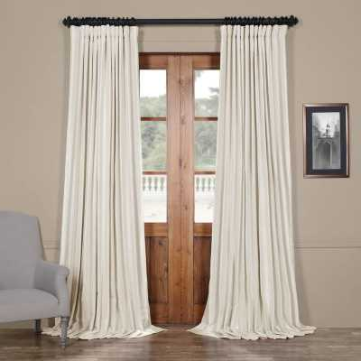 BAHARI BLACKOUT THERMAL ROD POCKET SINGLE CURTAIN PANEL - Birch Lane
