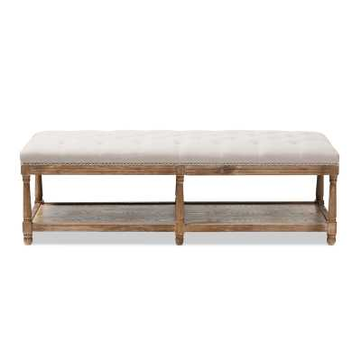 Bem French Country Upholstered Storage Bench - Wayfair