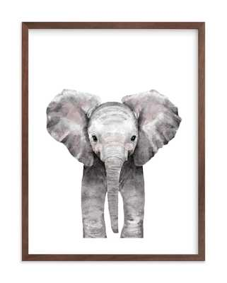 Baby Animal Elephant byCass Loh unframed - Minted