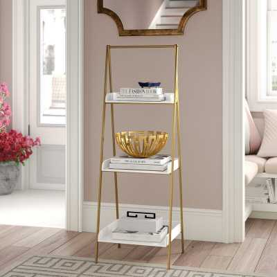 Shangrila Ladder Bookcase - Wayfair