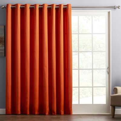 Wayfair Basics Solid Room Darkening Grommet Single Curtain Panel - Wayfair