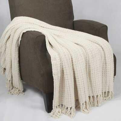 Mortensen Knitted Throw - Wayfair