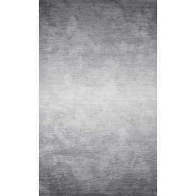 "Deskins Hand-Tufted Gray Area Rug - Gray  - 7'6"" x 9'6"" - Wayfair"