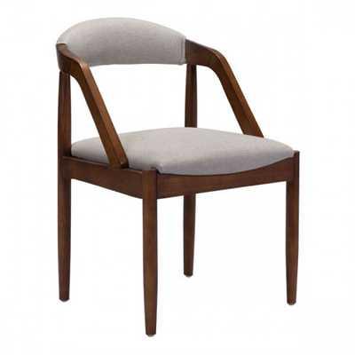 Jefferson Dining Chair Light Gray - Zuri Studios