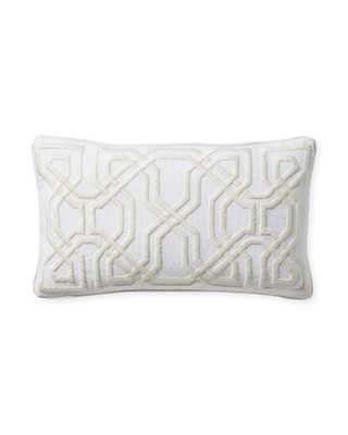 Jetty Pillow Cover - Ivory - Insert sold separately - Serena and Lily