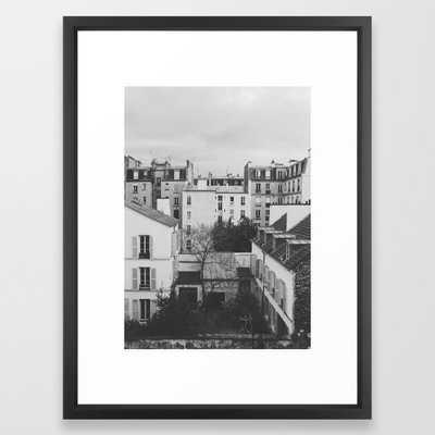Paris _ Photography Framed Art Print by Speakerine - Society6