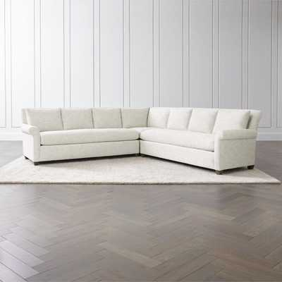 Cortina 3-Piece Sectional - Crate and Barrel