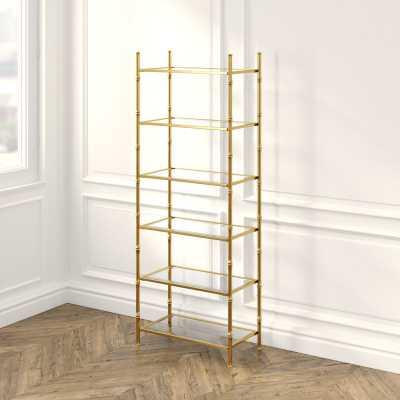 Britney 6 Tier Etagere Bookcase - Wayfair