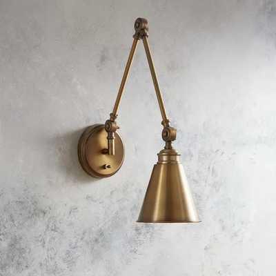 Waucoba Swing Arm Lamp - plug in - Wayfair