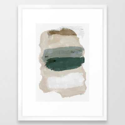 Paint Stripes Framed Art Print - Society6
