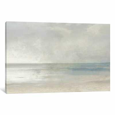'Pastel Seascape III' Painting Print on Canvas - Wayfair