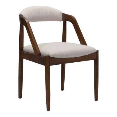 Jefferson Dining Chair Beige - Zuri Studios