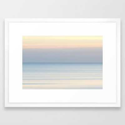 "Ocean Sunrise Framed Art Print - 20"" x 26"" - Society6"