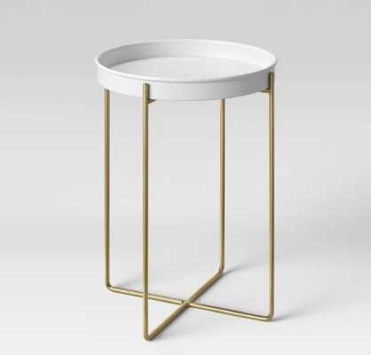"""12"""" Iron/Brass Plant Stand White - Project 62™ - Target"""