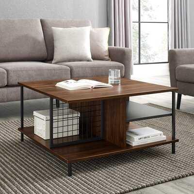 Karah Coffee Table with Storage - Wayfair