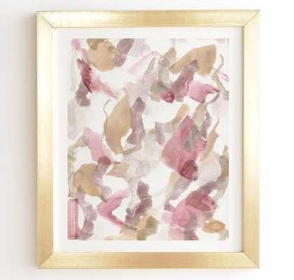 Georgiana Paraschiv Abstract M10 Gold Framed Wall Art - Wander Print Co.