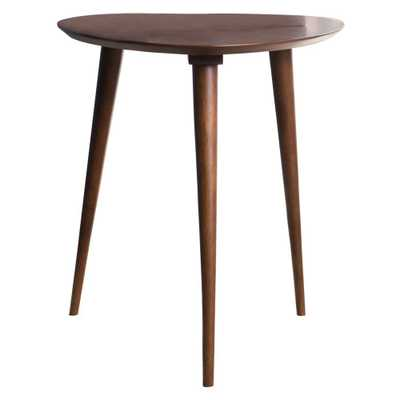 Naja End Table - Wood - Walnut (Brown) - Christopher Knight Home - Target