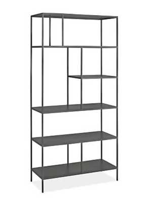 Foshay Bookcases in Natural Steel - Room & Board