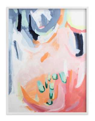 "Dream Peachy Art Print  / 40"" x 30"" / White Wood Frame - Minted"