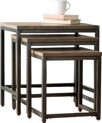 Ekalaka 3 Piece Nesting Tables - Wayfair