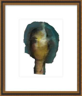 Woman Head - Artfully Walls